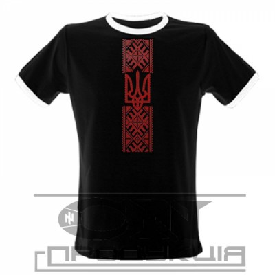 "Embroidered t-shirt for man ""Right Sector"""
