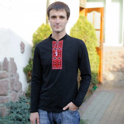 "Embroidered t-shirt for man ""Kharkiv"""