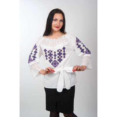 "Embroidered blouse ""Gentle Touch"" 4"