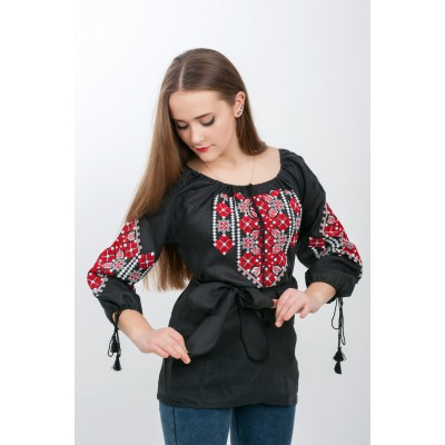 "Embroidered blouse ""Gentle Touch 3"""