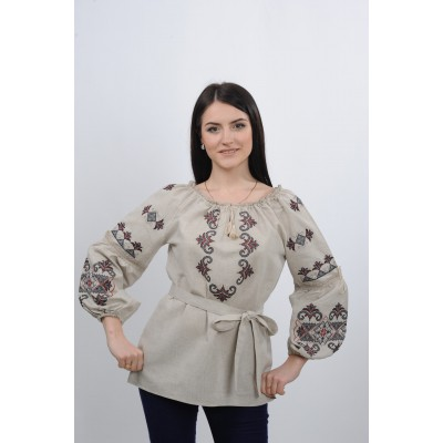 "Embroidered blouse ""Arabesque"""