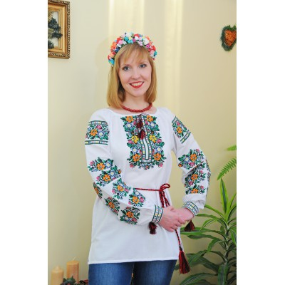 "Embroidered blouse ""Flower Meadow"""