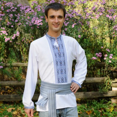 "Embroidered shirt ""Dnieper"""