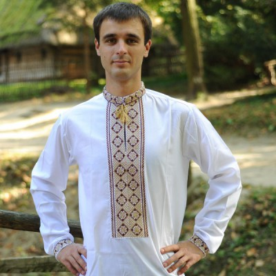 "Embroidered shirt ""Golden Ukrainian"""