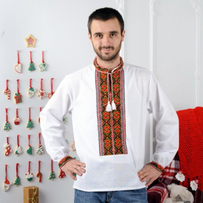 "Embroidered shirt ""Gutsul"""