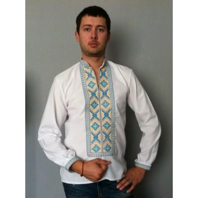 """Embroidered shirt """"Royal"""""""