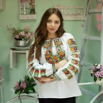 "Embroidered blouse ""Flowers of Lviv"""