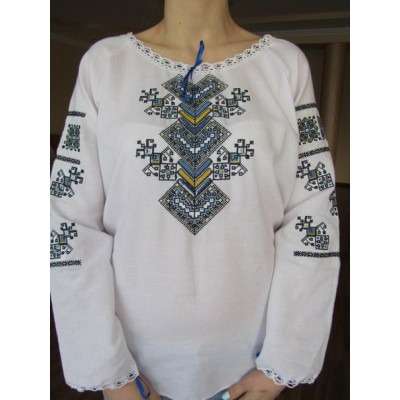 "Embroidered  blouse ""Amuleth for Family"""