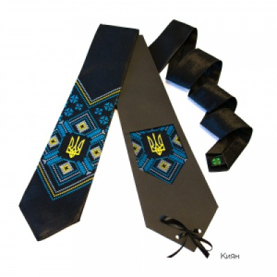 "Embroidered tie for men ""Kyyan"""