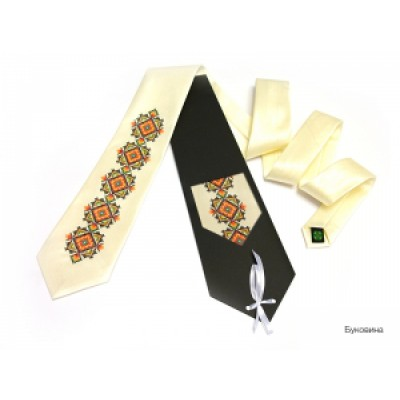 "Embroidered tie for men ""Bukovyna"""