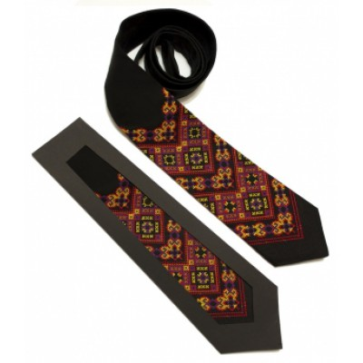 "Embroidered tie for men ""Izyaslav"""