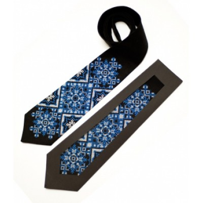 "Embroidered tie for men ""Gleb"""
