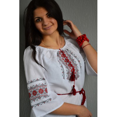 "Embroidered  blouse ""Ukrainian Ornament"""