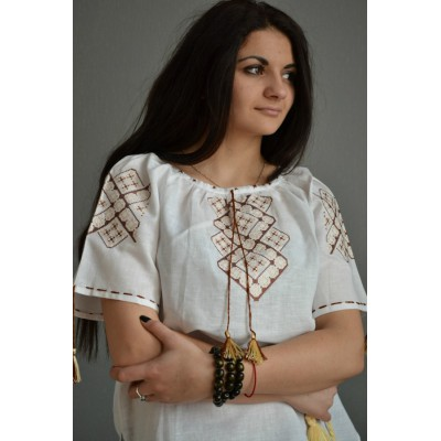 """Embroidered  blouse """"Summer Breeze"""""""