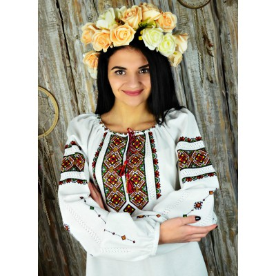 "Embroidered blouse ""Beautiful Style Handmade"""