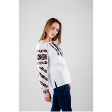 "Embroidered Blouse ""Secret Garden"""