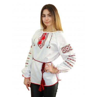 "Embroidered blouse ""Classic"""