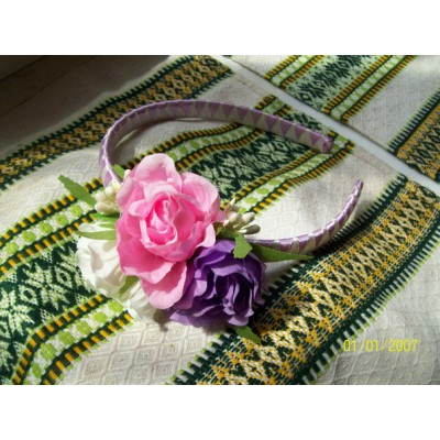 "Hair band ""Peonies"""