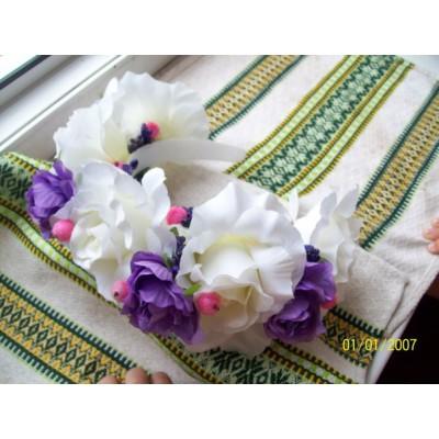 "Ukrainian Wreath ""Peonies"""