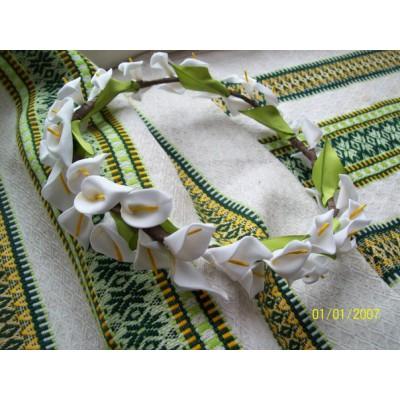 """Ukrainian Wreath """"Callas Circle"""""""