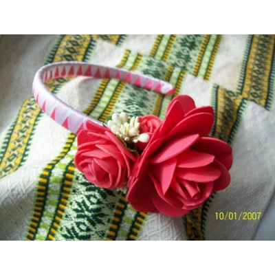 "Hair band ""Flowers of Tenderness"""