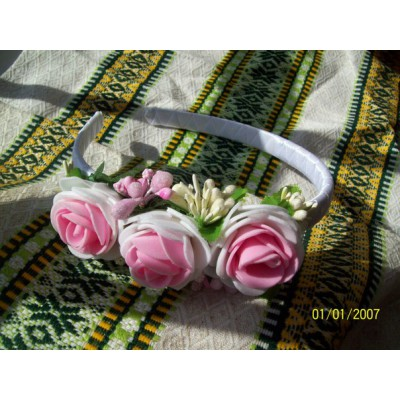 "Hair band ""Spring Melody"""