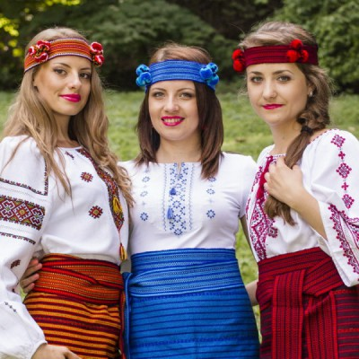 "Ukrainian Chiltse ""Gutsul Lady"""