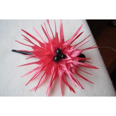 """Hairclip """"Pink Aster"""""""