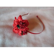 """Hair band """"Red Berries"""""""