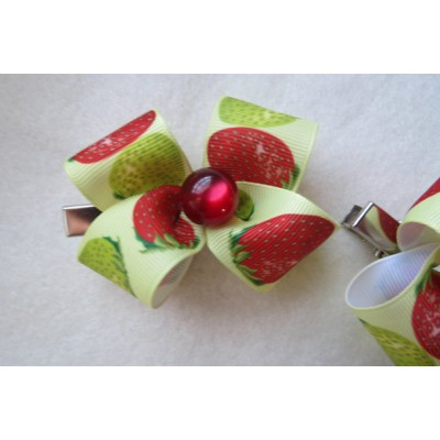 "Hairclip (pair) ""Juicy"""