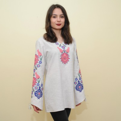 "Sale!! ""Arezou"" SS17 Embroidered Tunic (S, M)"