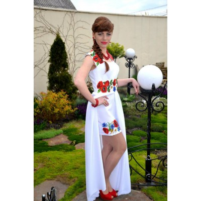 """Beads Embroidered Dress """"Luxury of Nature"""""""
