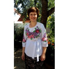 """Beads Embroidered Blouse """"Lilac"""""""