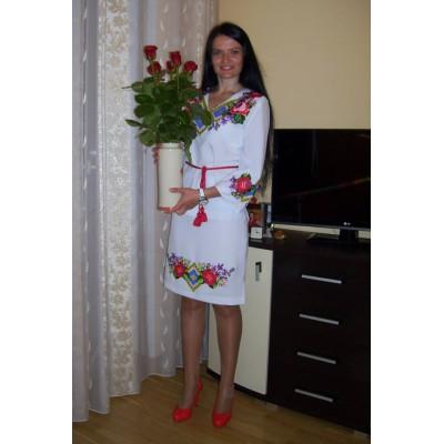 "Beads Embroidered Dress ""Festive Mood"""