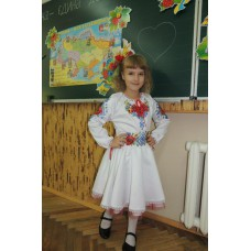 """Beads Embroidered Dress for girl """"Young Lady"""""""