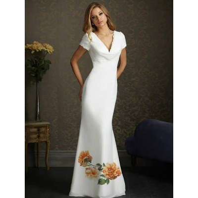 """Beads Embroidered Dress """"Royalty 3"""""""