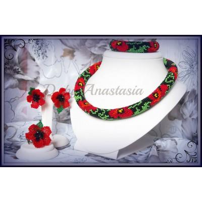"""Necklace """"Patriotic #7"""""""