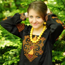 """Embroidered blouse """"Carpathian Mountains"""""""
