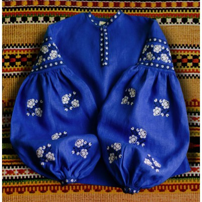 "Boho Style Ukrainian Embroidered Folk  Blouse ""Sun"" 11"