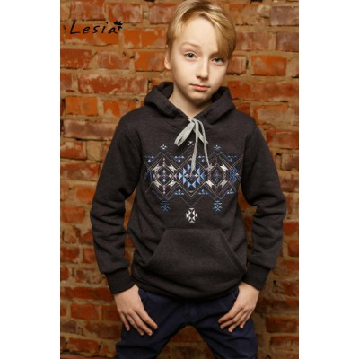 "Embroidered hoodie for teenager ""Light Version"""