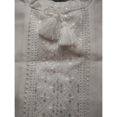 """Embroidered shirt for little boy """"Confession"""""""