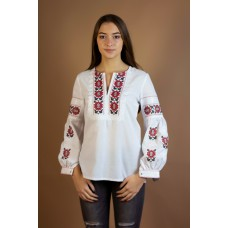 "Embroidered tunic ""Flower Star"""