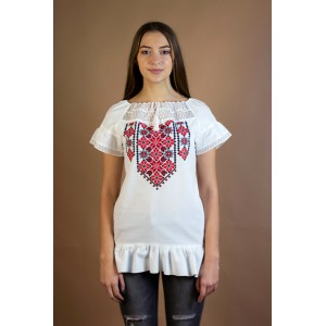 "Embroidered tunic ""Summer Paradise"""