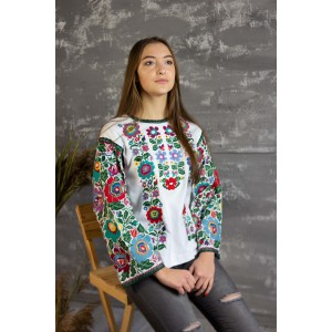 "Embroidered blouse ""Floral Bukovyna"""