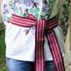 Traditional Belt (Krayka) Red for children