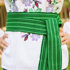 Traditional Belt (Krayka) Green for adult
