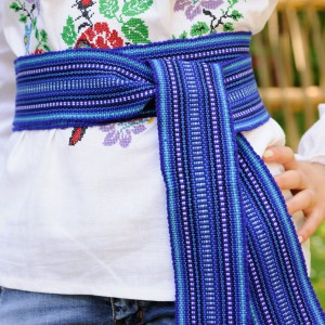 Traditional Belt (Krayka) Blue for adult