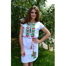 "Embroidered dress ""Oak&Kalyna"""