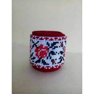 "Bracelet ""Cross-stitched"""
