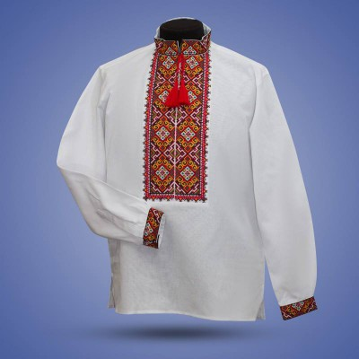 "Embroidered shirt ""Trembita"""